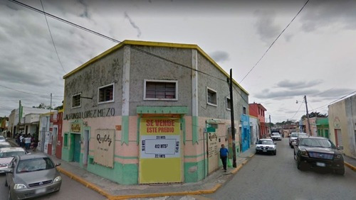 Edificio En Centro De Tizimin Para Invertir