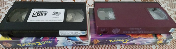Fitas Vhs Pokemon O Filme / Pokemon 3 Originais