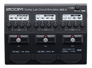 Interface Audio Pedaleira Zoom Gce3 Guitar Lab Gravação Novo