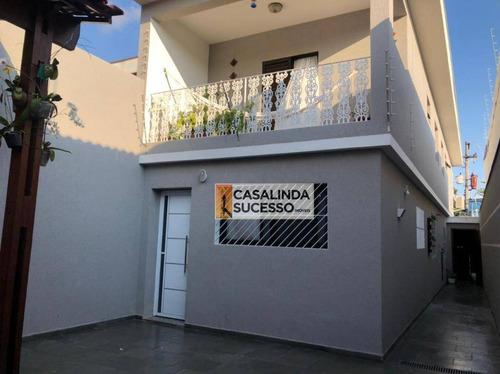 Sobrado Com 3 Dormitórios À Venda, 216 M² Por R$ 850.000,00 - Vila Formosa (zona Leste) - São Paulo/sp - So1200