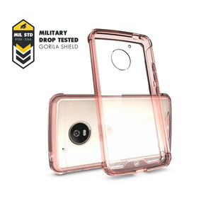 Capa Ultra Slim Air Rosa Para Moto G5s Plus - Gorila Shield