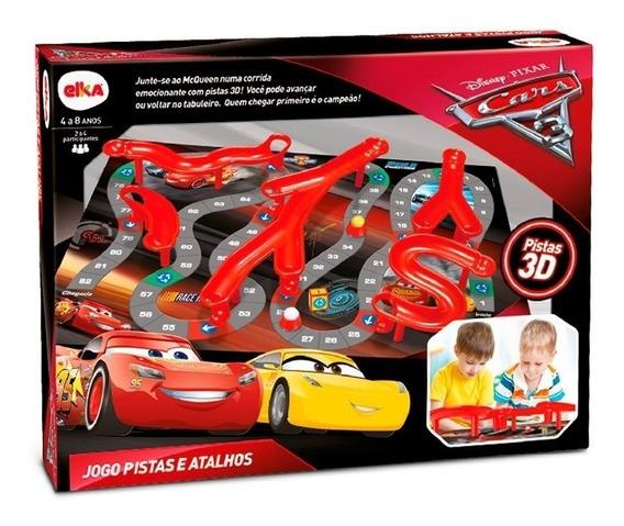 Jogo Pista E Atalhos Carros 3 - Disney Pixar - Elka