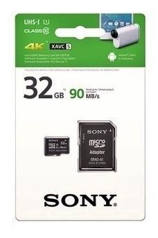 Cartão De Memória 32gb Micro Sd Sony Classe 10 - Promoção