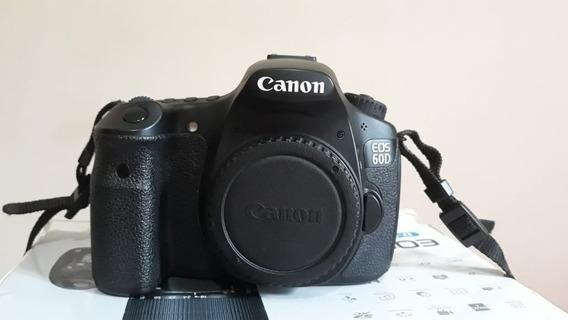 Camera Canon 60d + Acessórios Novíssima