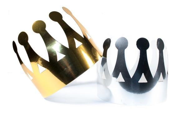 48 Coronas Rey De Cartón Para Fiestas Eventos Batucada N54