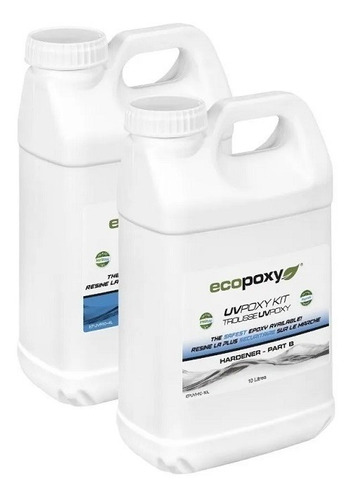 Imagen 1 de 2 de Ecopoxy Uv Poxy Kit 8 Litros