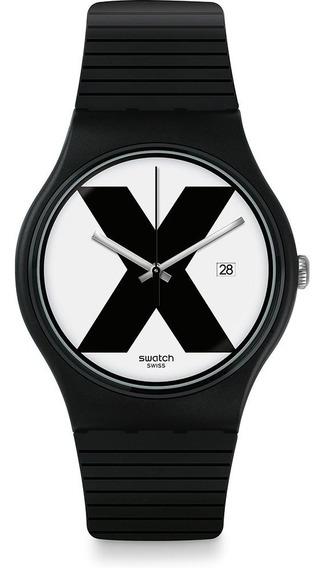 Relógio Swatch Xx-rated Black (straight Edge)