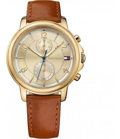 Relógio Tommy Hilfiger Feminino Couro Marrom - 1781818