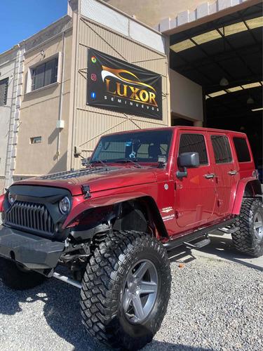 Imagen 1 de 6 de Jeep Wrangler 2011 X Sahara Unlimited 4x4 At
