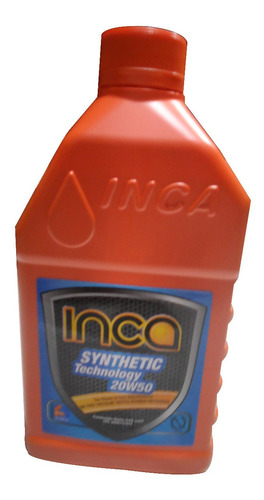 Aceite 20w 50 Semisintetico Marca Inca