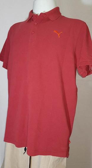 Camiseta Masculina Puma Original, Modelo Polo No Tamanho 2g