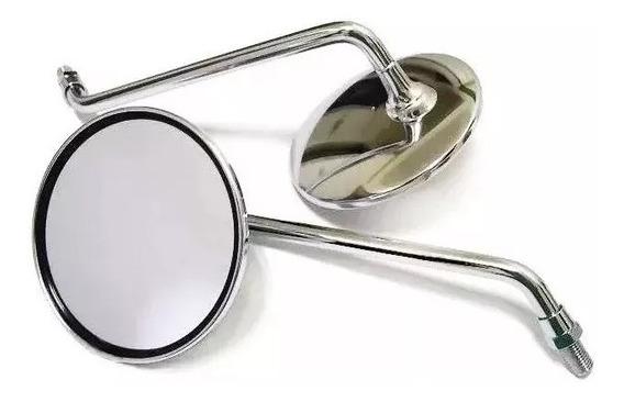 Espelho Retrovisor Cg 125 Bolinha 77 A 82 Ml 125 Turuna Aço