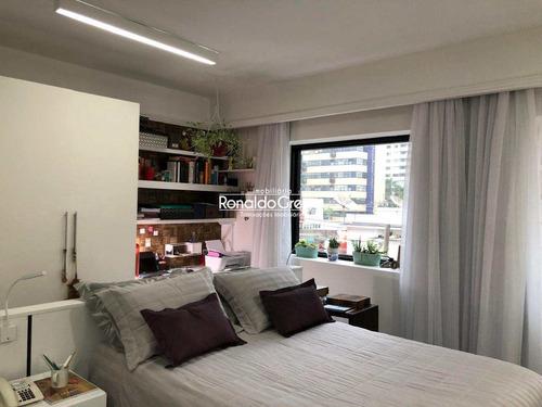 Flat Com 1 Dorm, Moema, São Paulo - R$ 380 Mil. - V902