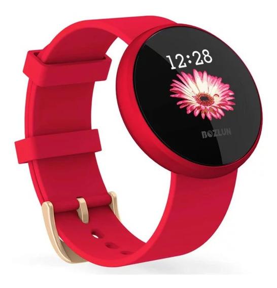 Reloj Inteligente B36 C/monitoreo De Ritmo Card?aco P/mujer