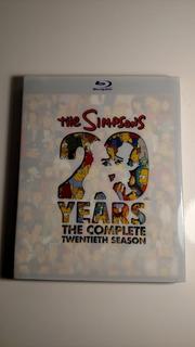 Blu-ray Os Simpsons 20º Temporada Completa (importado)