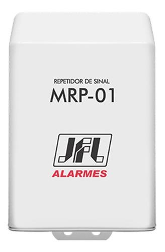 Imagem 1 de 2 de Repetidor De Sinal Jfl Mrp-01 Alarme Sem Fio Duo