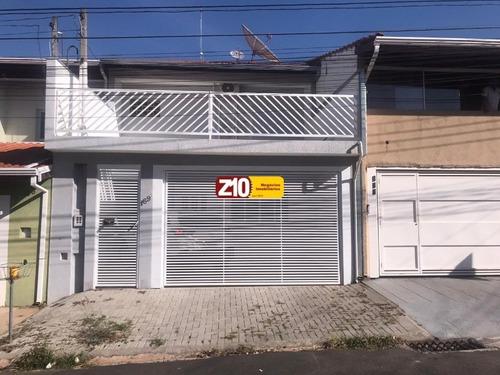 Ca09053 - Jardim Hubert - Sobrado - At 130m², Ac 182,50m², 03 Dormitórios (sendo 01 Suíte), Escritório - Indaiatuba/sp - Z10 Imóveis. - Ca09053 - 68718526