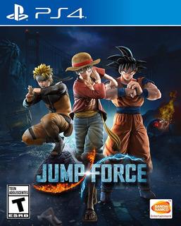 Jump Force Playstation 4 Nuevo