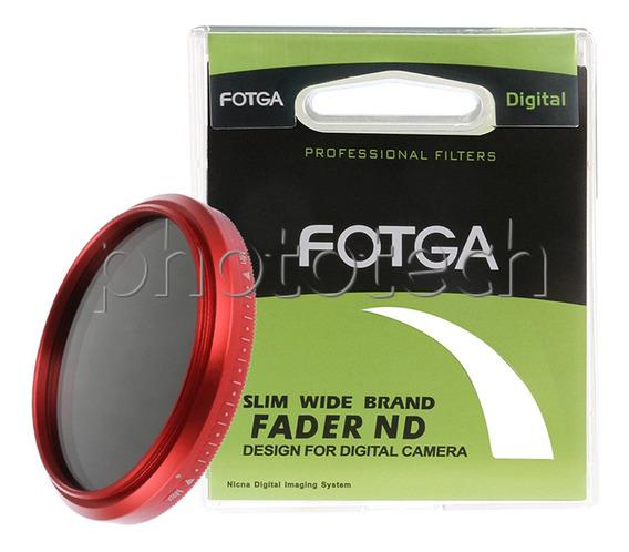 Filtro Nd Variável 52mm Fotga Slim Wide Band Fader