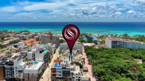 Condominio Con Alberca En Rooftop, A Solo Unos Pasos De La Playa
