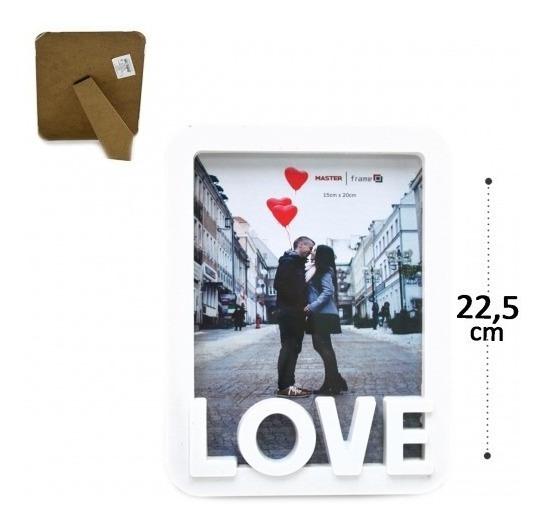 Porta Retrato Vertical 15x20 Love - Namorados