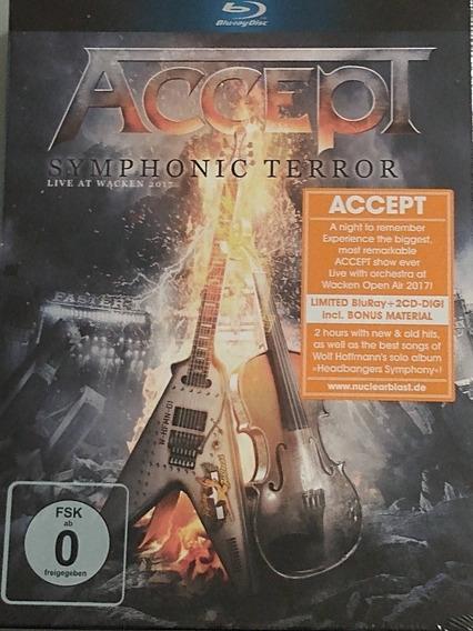 Accept Symphonic Terror - Live At Wacken 2017 Blu-ray+2cd