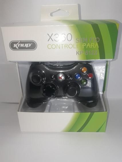 Controle Xbox 360 Knup Sem Fio