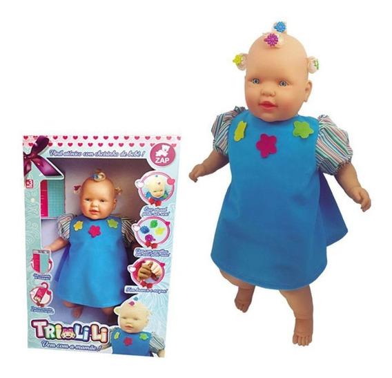 Boneca Trilili Zap Brinquedos
