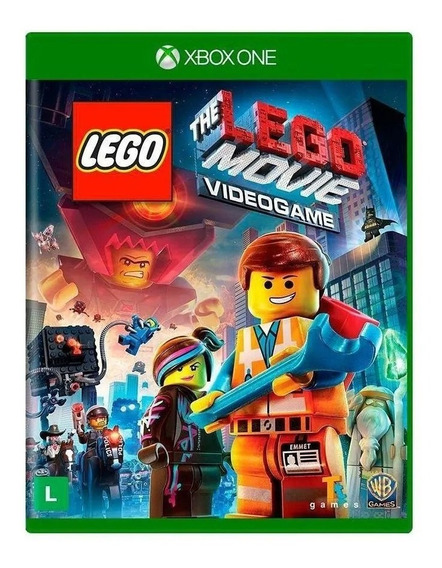 Lego The Movie Jogo Xbox 360