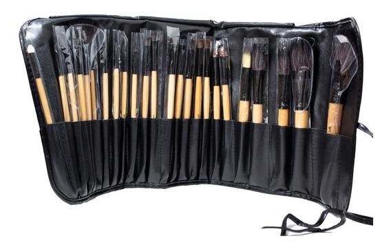 Brochas Maquillaje Make Up 24 Piezas Belleza Mujer Hermosa