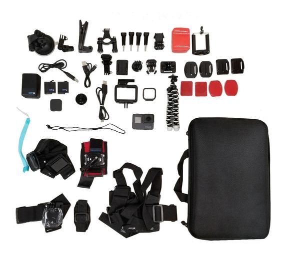 Gopro5 Black Com Sd128gb, Baterias E Muitos Acessorios!!