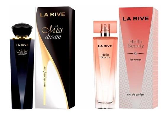 Kit Perfumes Miss Dream 100ml + Hello Beauty 100ml La Rive