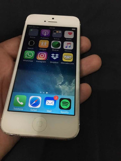 iPhone 5 Branco Reparo!