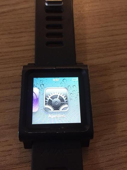 iPod 6 Nano 16gb Em Ótimo Estado - Relógio