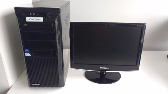 Computador Pentiun Dual Core E5400 2.7ghz S775 + Monitor 19