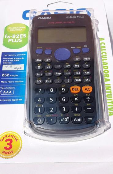Calculadora Científica Fx-82es - Plusbk Casio