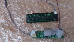Teclado E Sensor Tv Semp Toshiba 43l2500