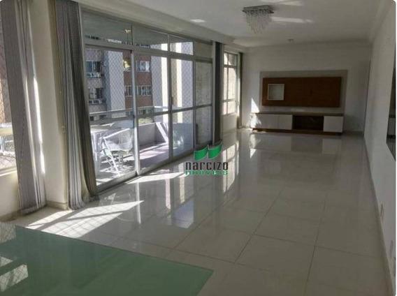 Apartamento Com 5 Dormitórios À Venda, 198 M² Por R$ 820.000,00 - Graça - Salvador/ba - Ap2131