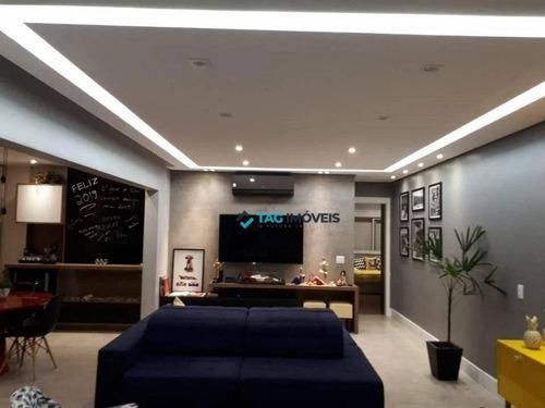 Apartamento Com 2 Dormitórios À Venda, 109 M² Por R$ 1.280.000,00 - Cambuí - Campinas/sp - Ap2169
