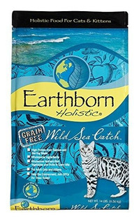Earthborn Holistic Wild Sea Catch Grainfree Dry Cat Food