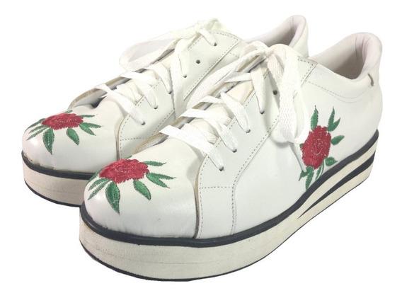 Zapatillas Loba De Mujer Talles Grandes Del 41 Al 44 Moreno