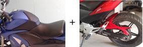 Kit Cb300 Protetor De Tanque + Paralama Traseiro + Pintura