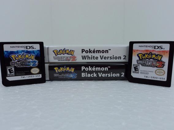 Combo Nintendo Pokemon White Version 2 + Black 2 - Ds / 3ds