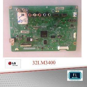 Placa Principal Tv Lg 32lm3400 Eax64991101 (1.0) Com Defeito