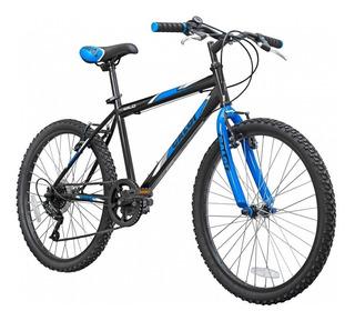 Bicicleta Caloi Wild Aro 24 2019 Hombre Mountain Bike Negro