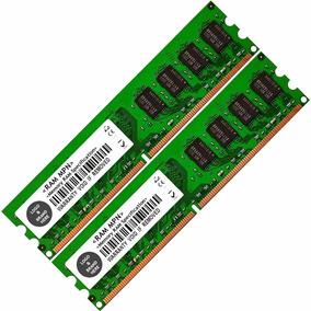 Memória Nanya Kit 4gb 2x2gb Ddr2 800mhz Dimm P/ Pc Amd Intel