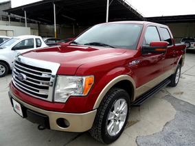 Ford Lobo Lariat Doble Cab 4x4 2013 Rojo