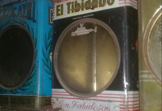 Lata Galletitas Antigua