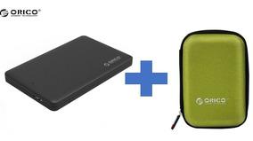 Case Hd De Notebook Ssd Usb 3.0 Orico + Estojo P. Transporte