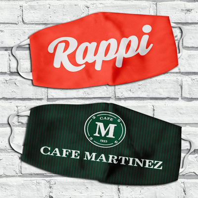 Tapaboca Personalizado Logos Empresas